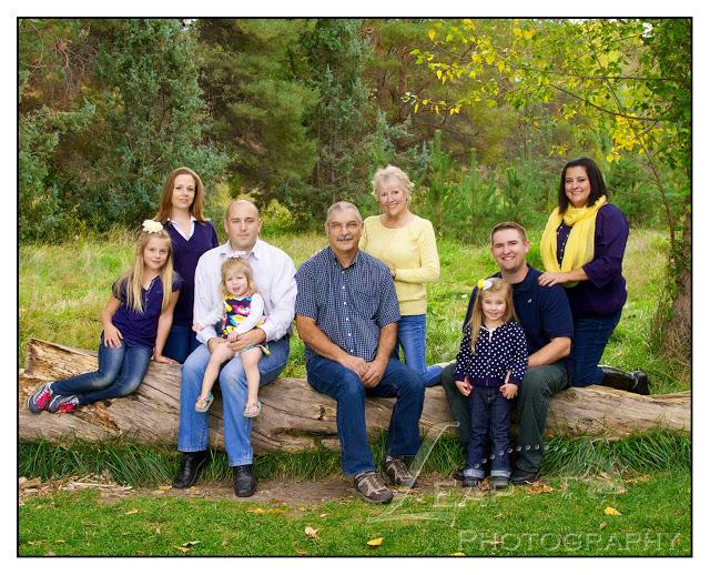 family portrait in Kathryn Albertson Park, Boise