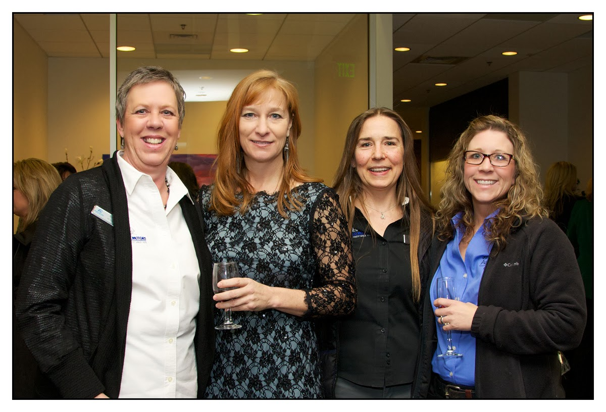 group of ladies who attended Infiniti Idaho grand opening
