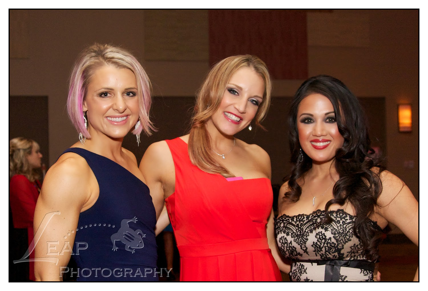 a few ladies who attended Heart Ball