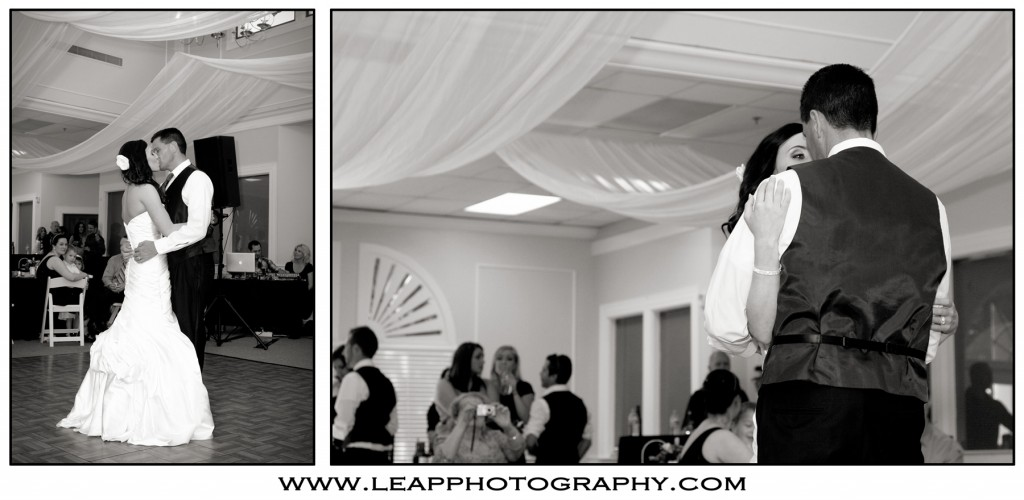 bride and groom's frist dance