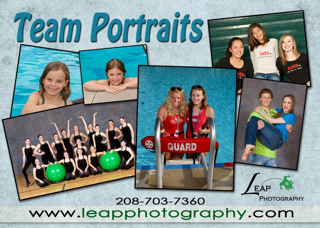 Team portraits brochure for Leap Photography