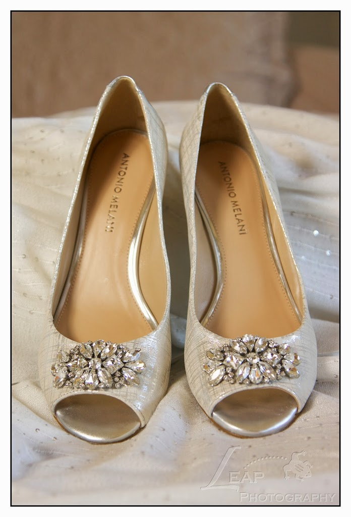brides shoes for Boise wedding