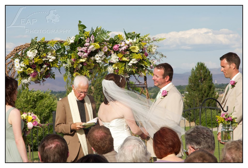Boise wedding ceremony
