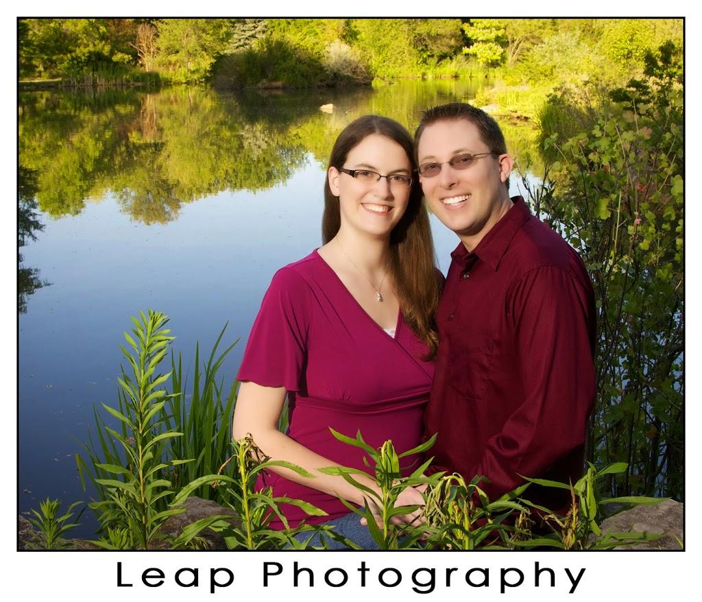 Boise engagement portrait