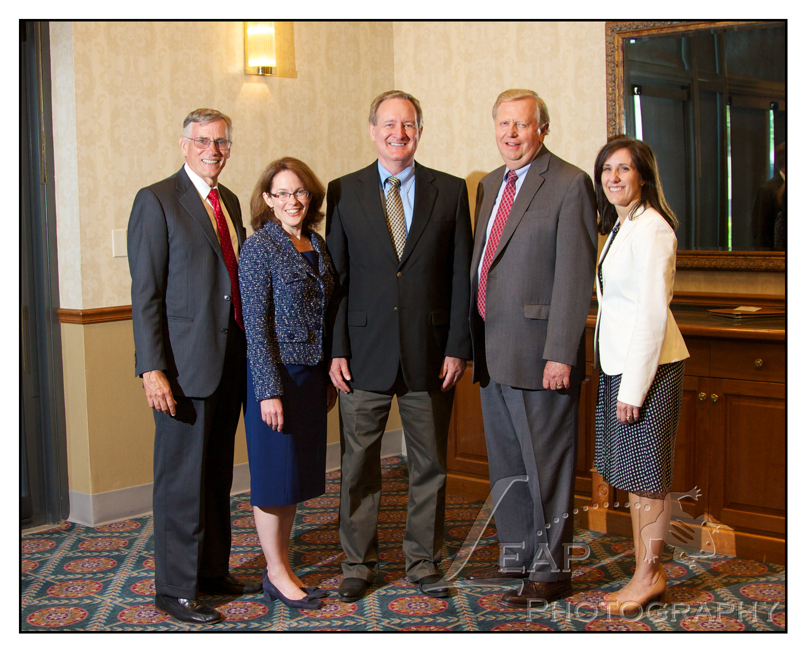 Idaho Senator Mike Crapo with FINRA panel of speakers
