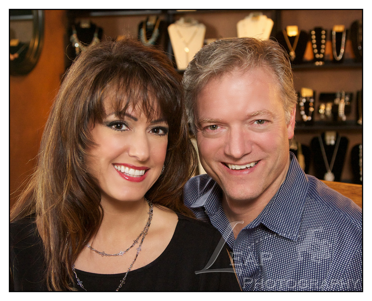 Desiree Dodson and her husband