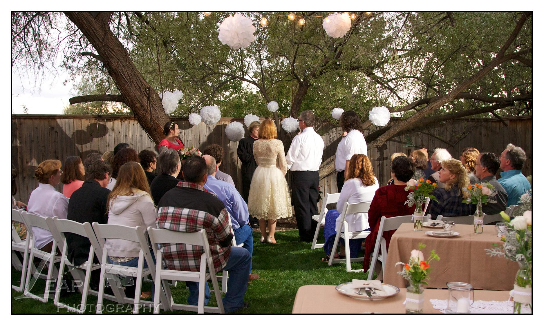 wedding ceremony, Boise Idaho photographers