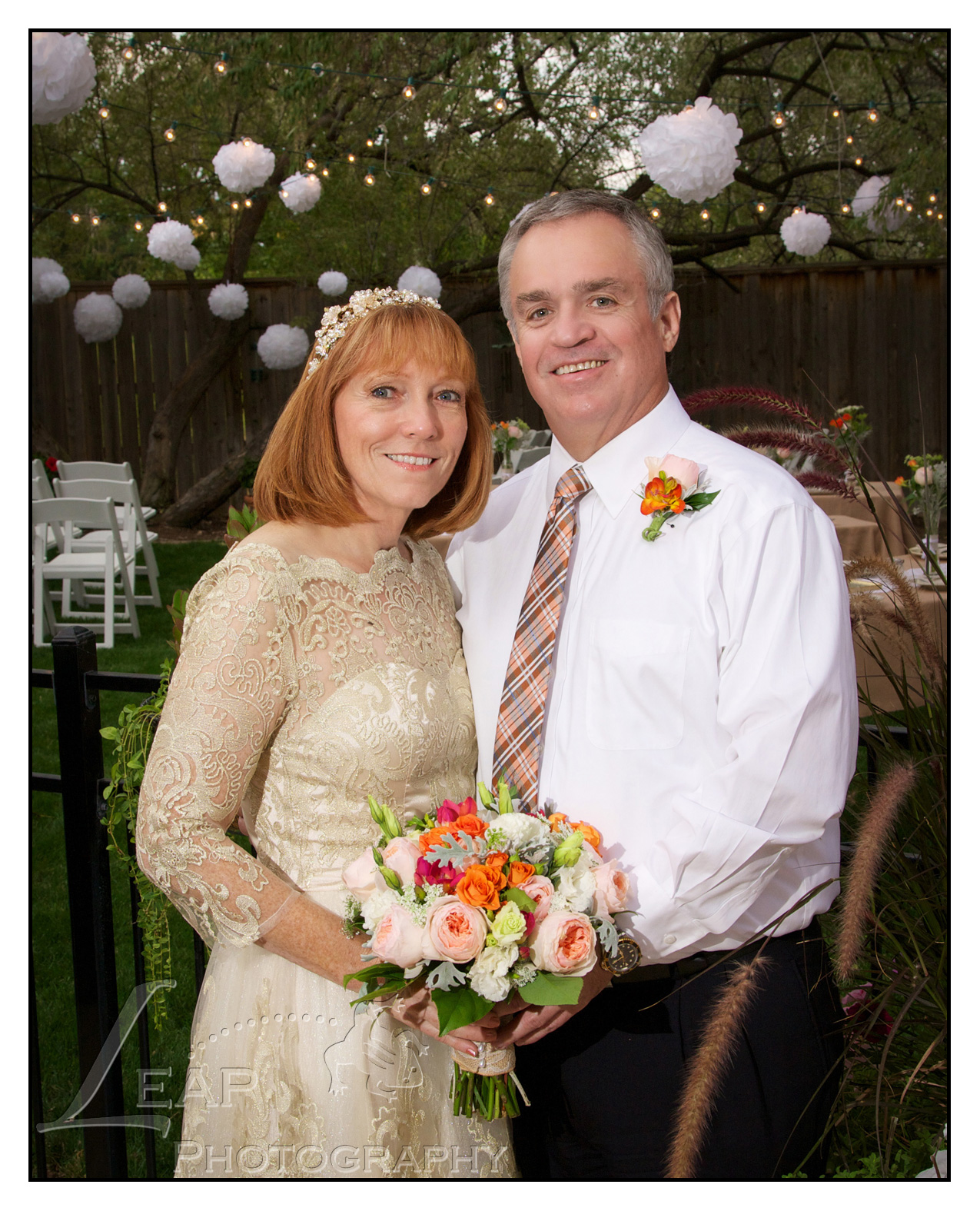 Bride & Groom on their wedding day