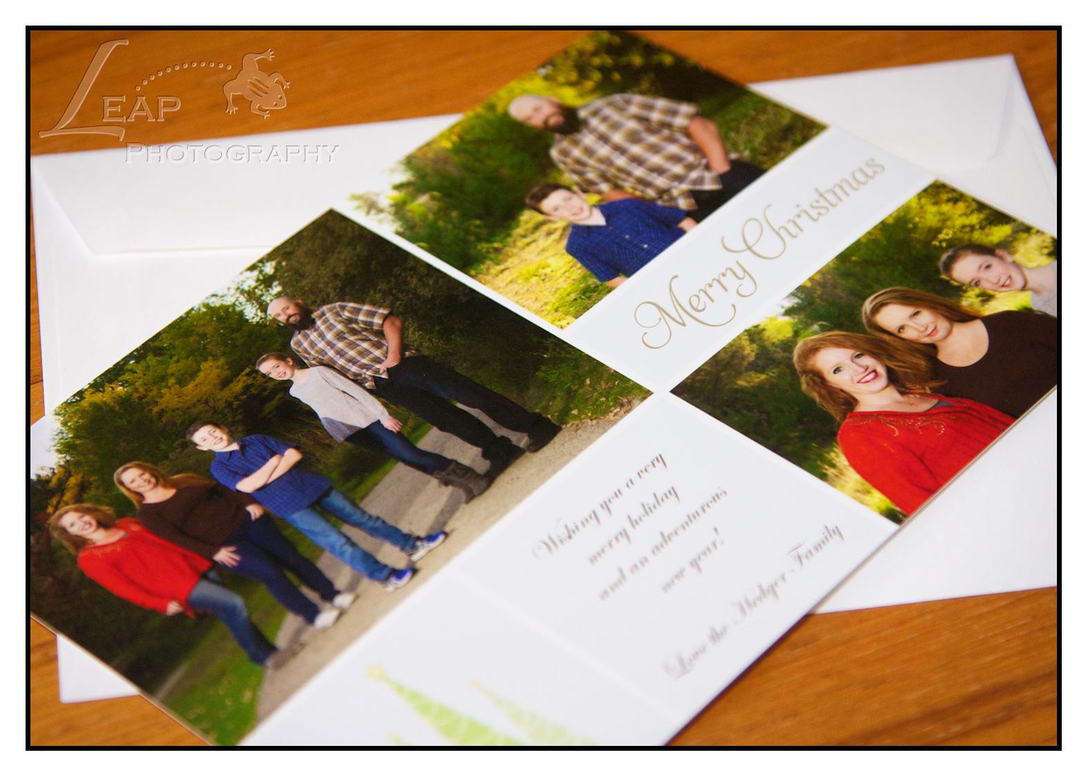 Christmas Cards--Boise Family Photographers