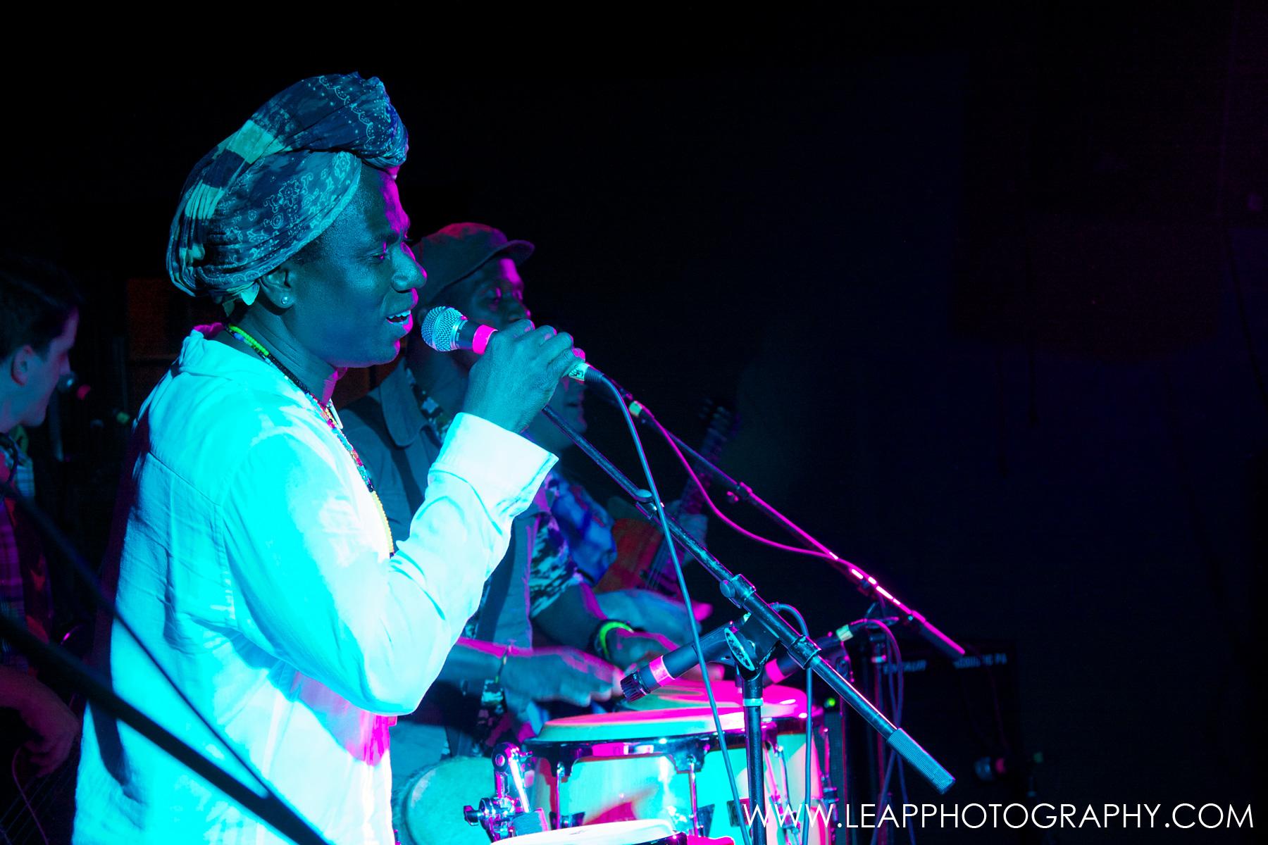 Afrosonics play at Treefort 2014