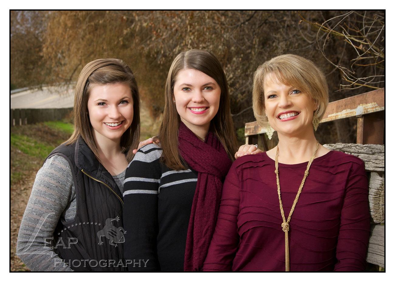 Family Portrait in Boise, Idaho park