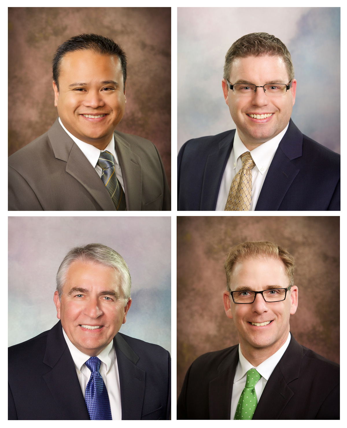 business headshots of Boise men