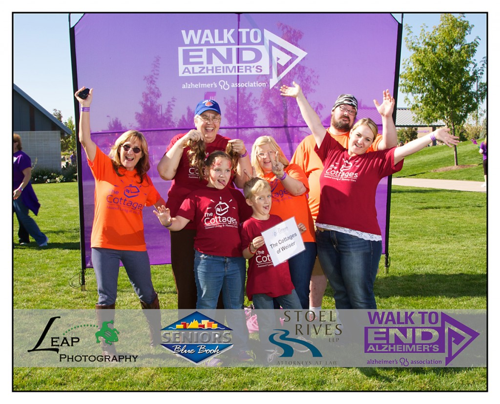Team Photo from 2015 Walk to End Alzheimer's event in Boise, Idaho