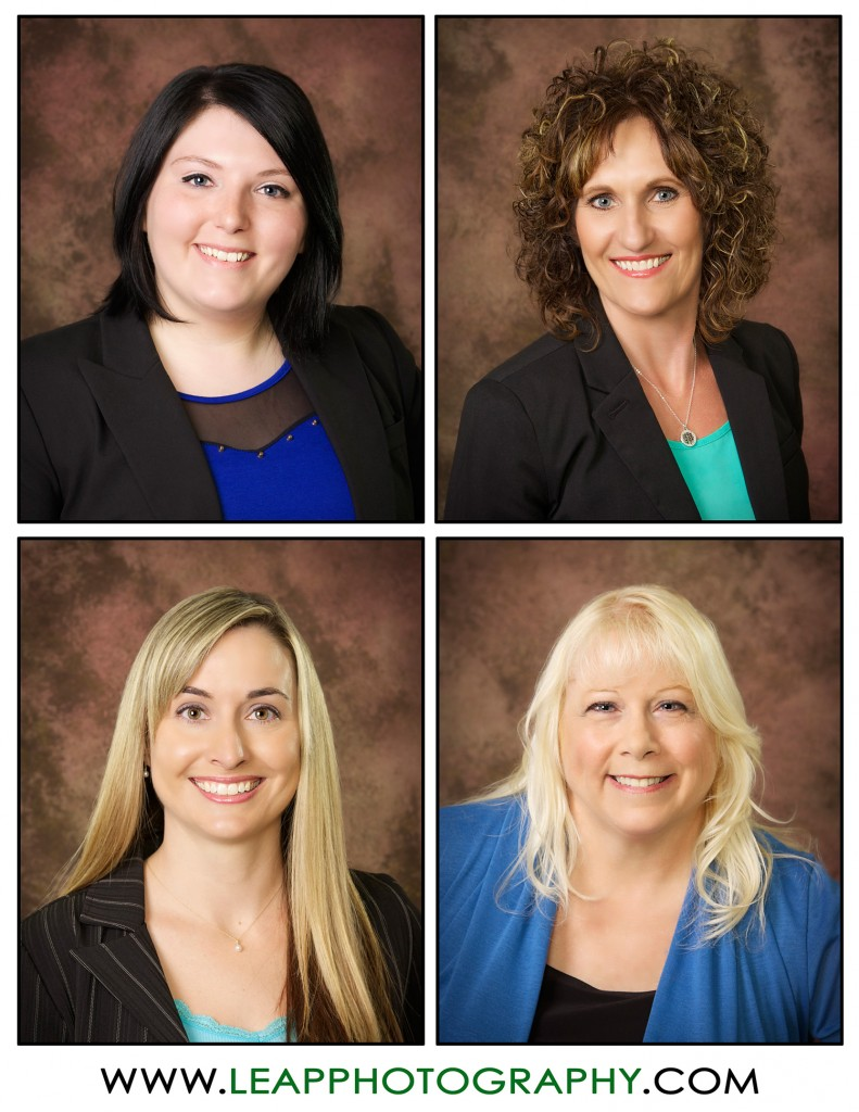 business head shots of Gem County Chamber staff members
