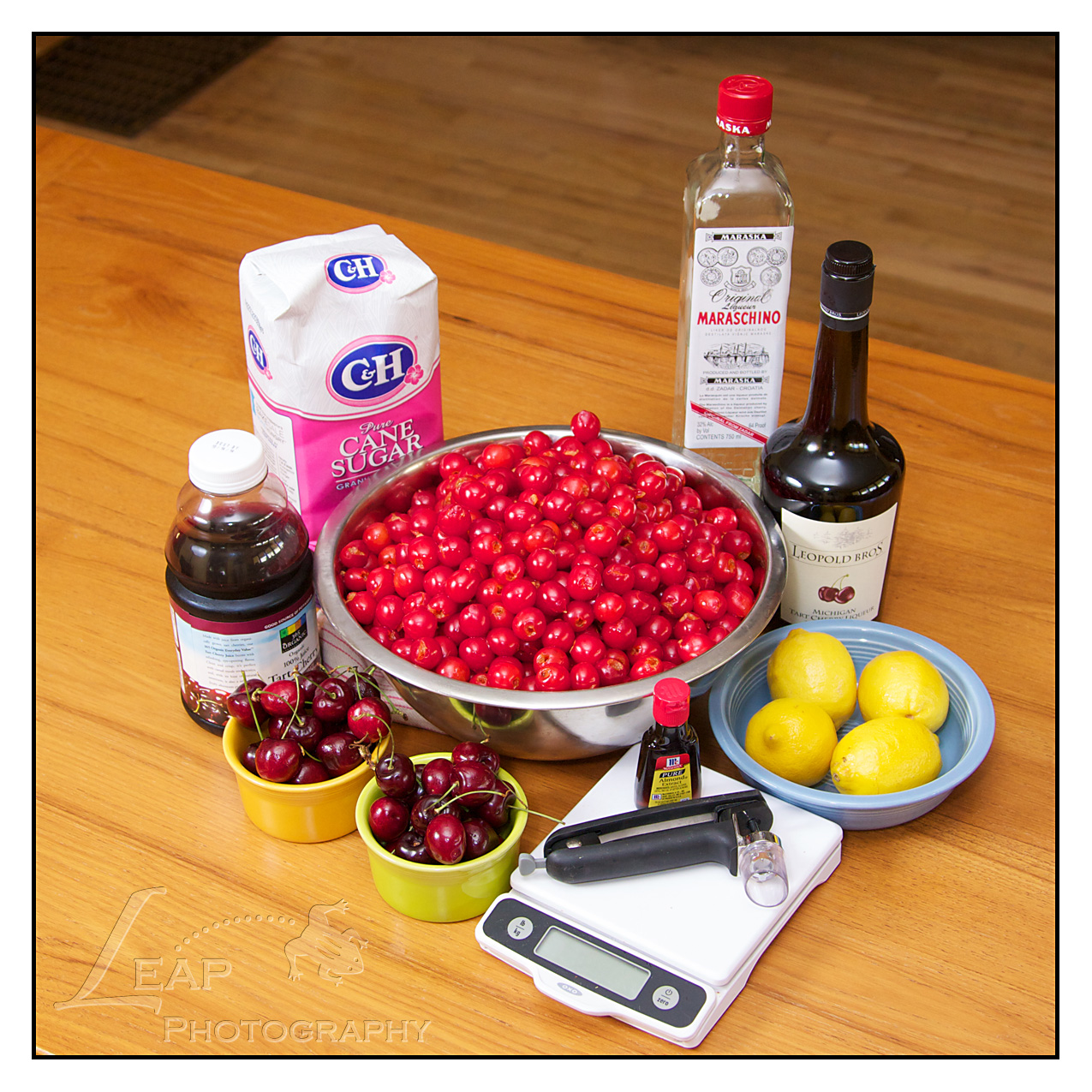 Maraschino Cherries: Home Canning Recipe