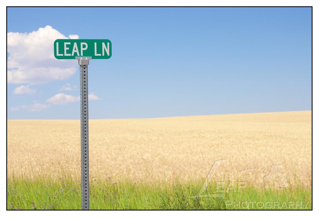 Leap Lane sign