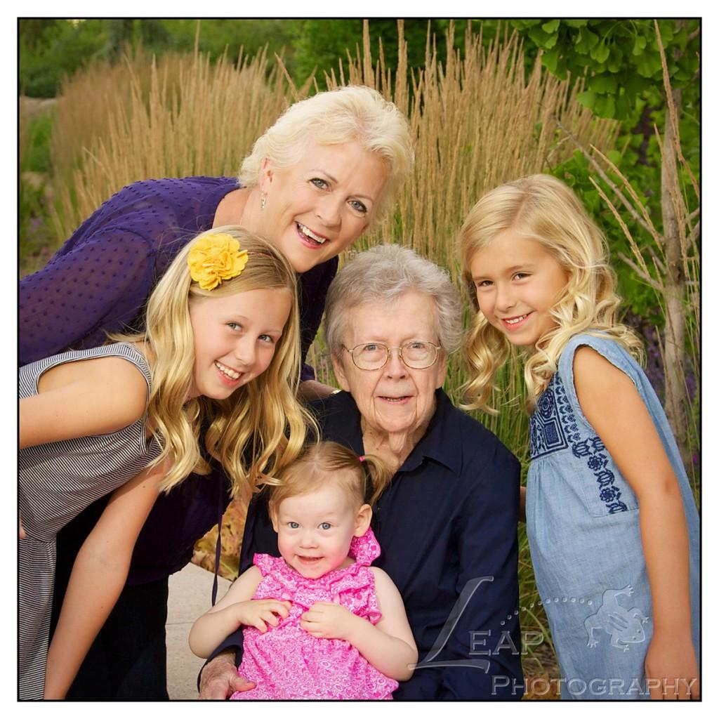 Boise family portrait