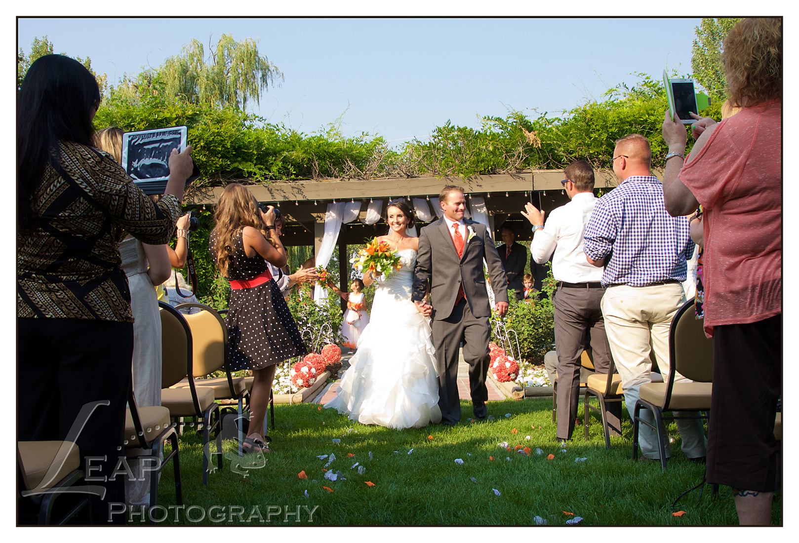 wedding ceremony in Boise