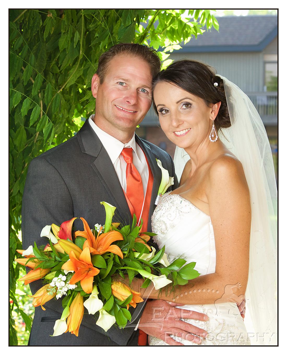 Boise couples wedding portrait