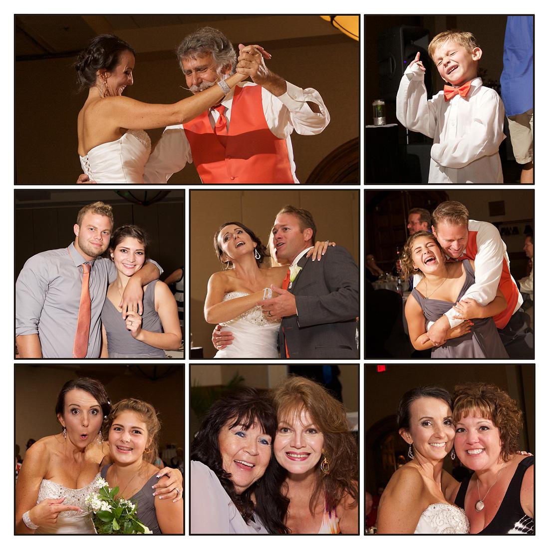 wedding reception photographs from Boise Wedding