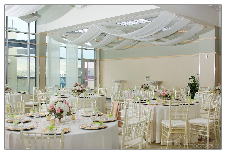 wedding decor in CW Moore Plaza venue