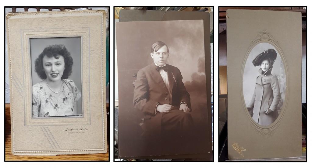 Vintage B&W portraits