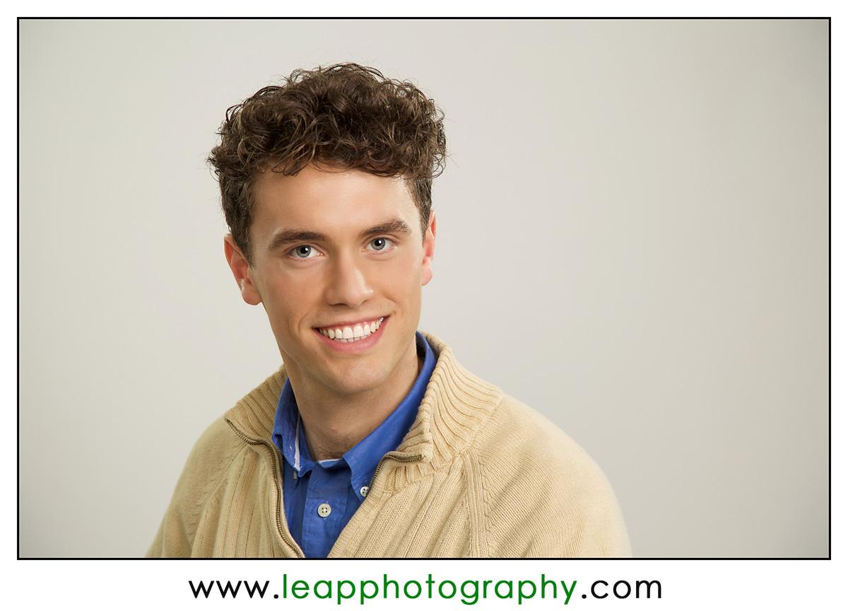 actor headshot, Boise portrait photographer