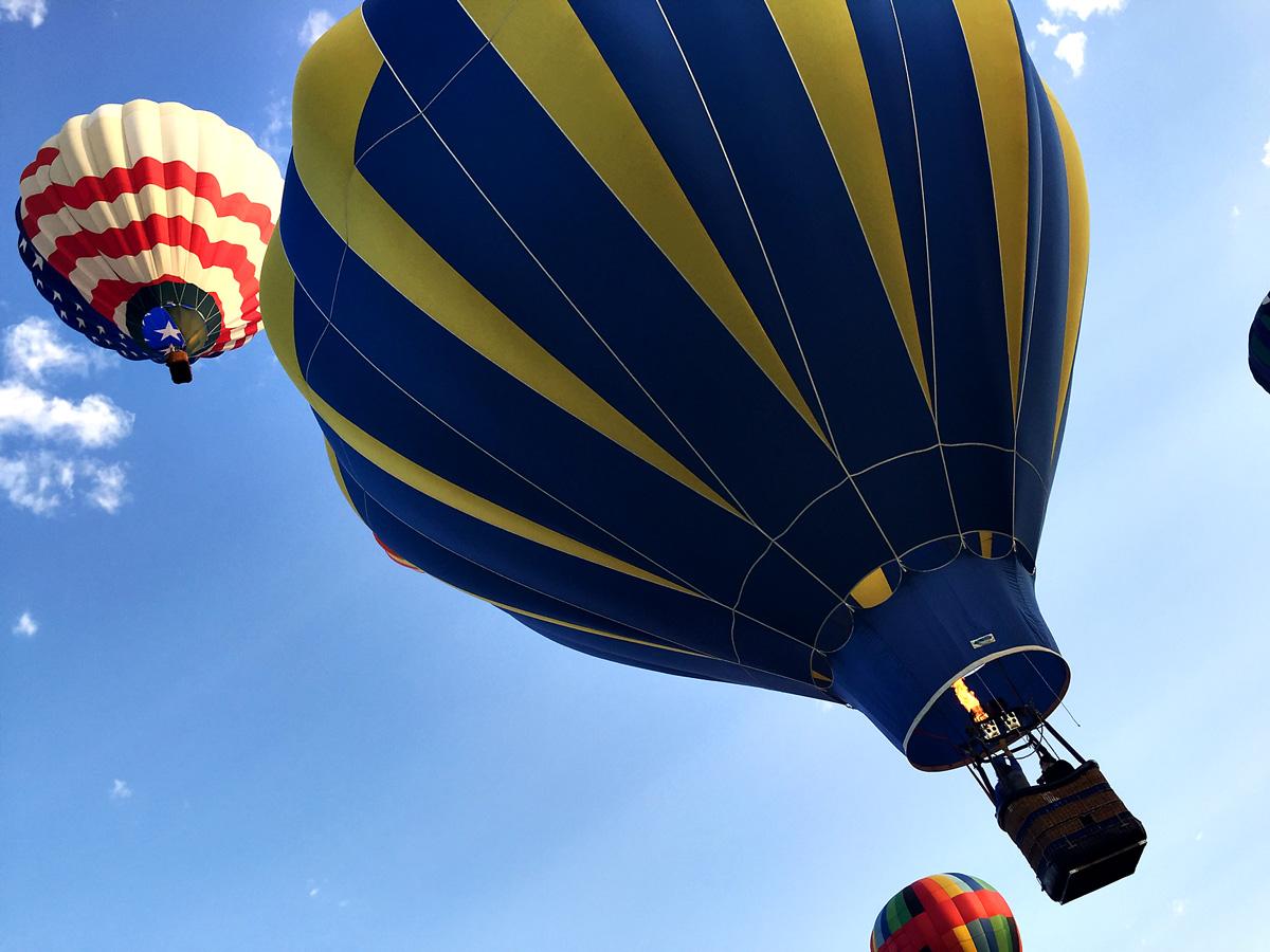 Simpatico Hot air balloon