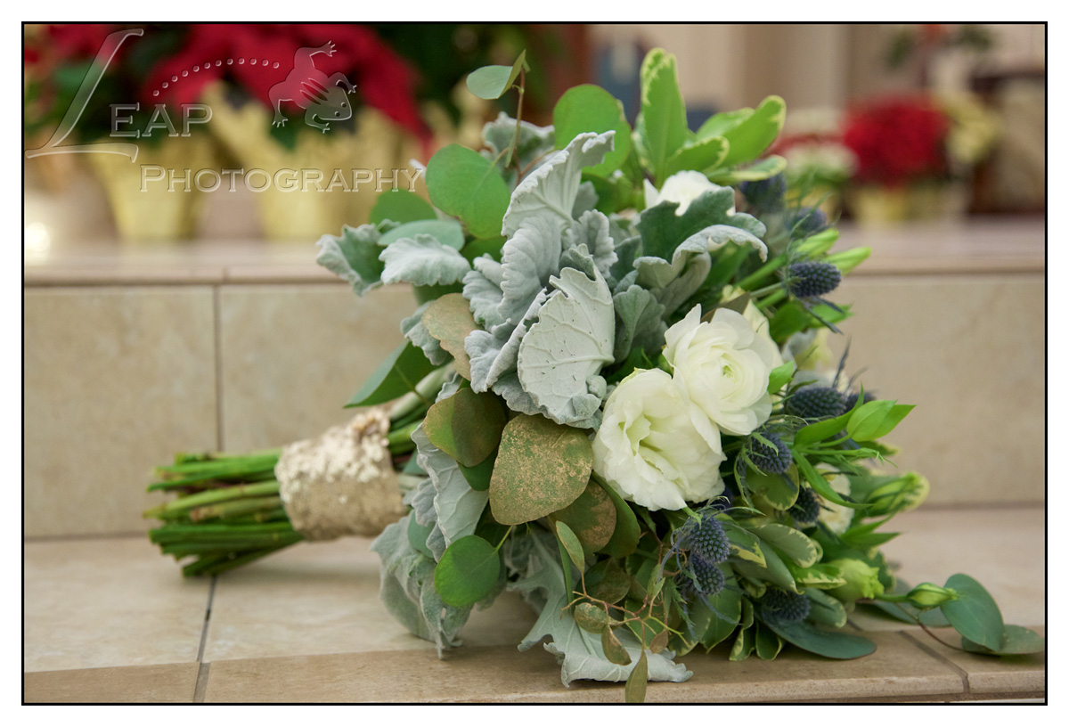wedding bouquet for New Years Eve wedding