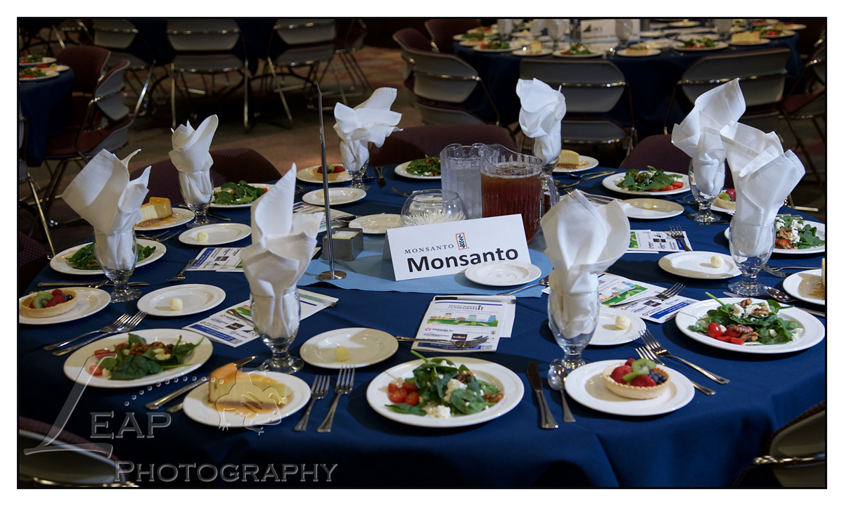Table Decor at Corporate Luncheon