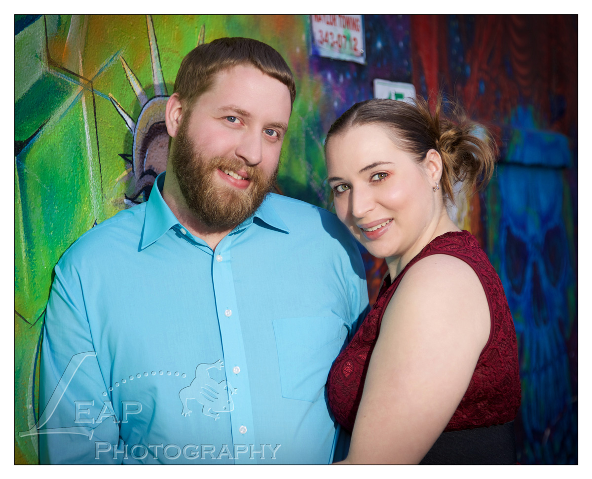 professional photo in freak alley