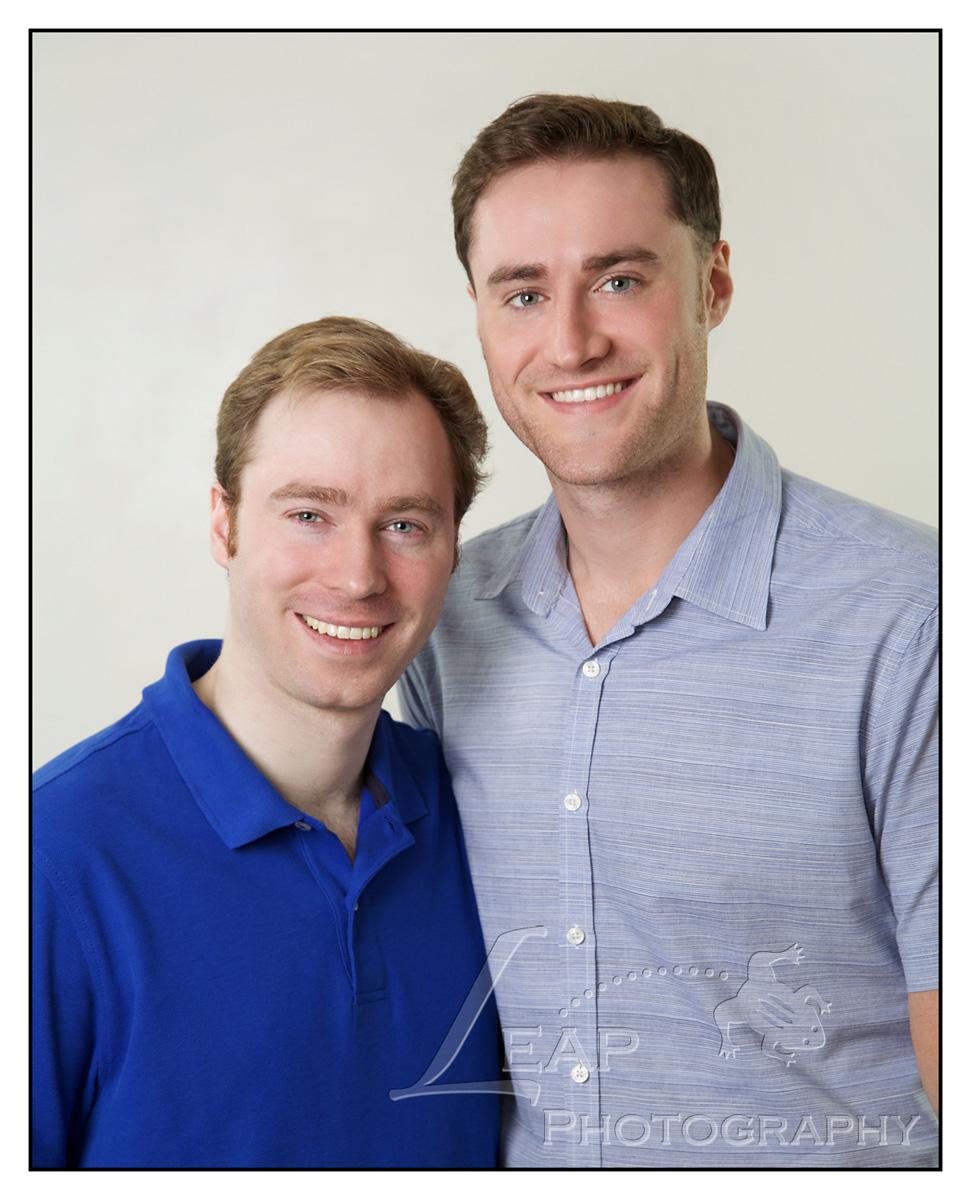 Studio Portrait of brothers