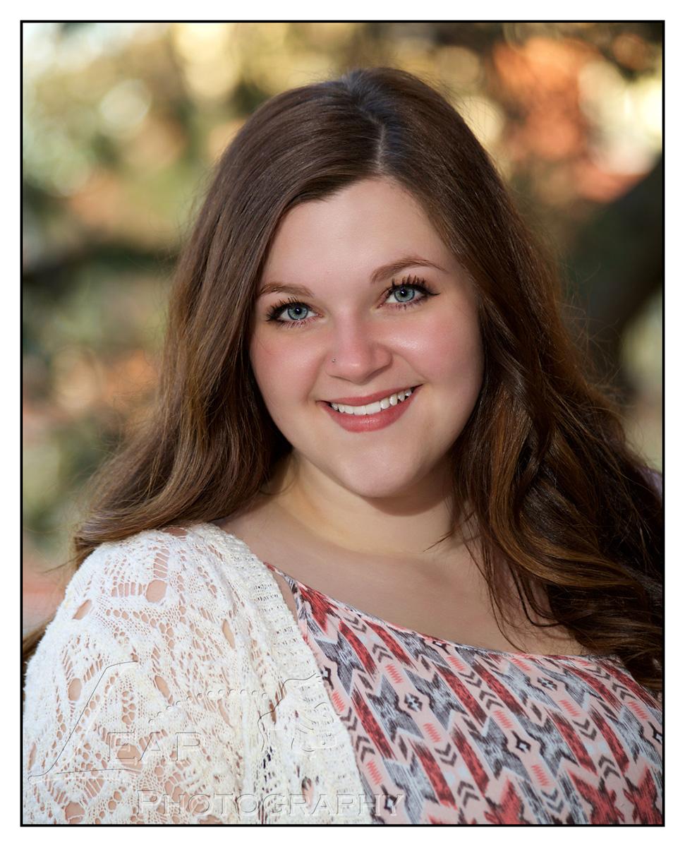 senior photo of college graduate