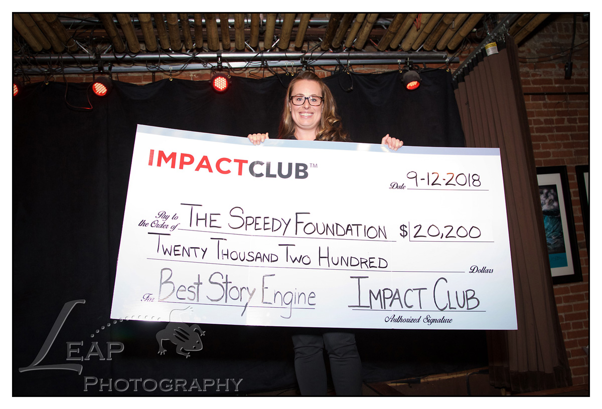 The Speedy Foundation wins $20,200