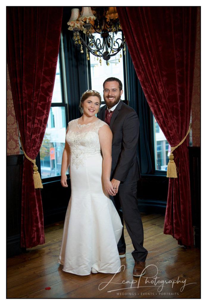 bridal portrait at capital city event center