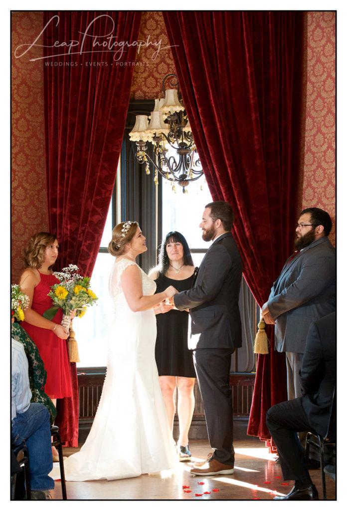 capital city event center wedding ceremony