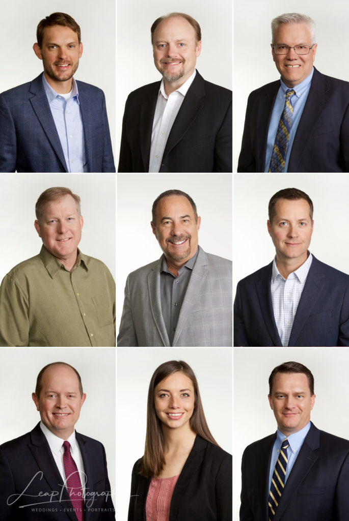 collage of company headshots