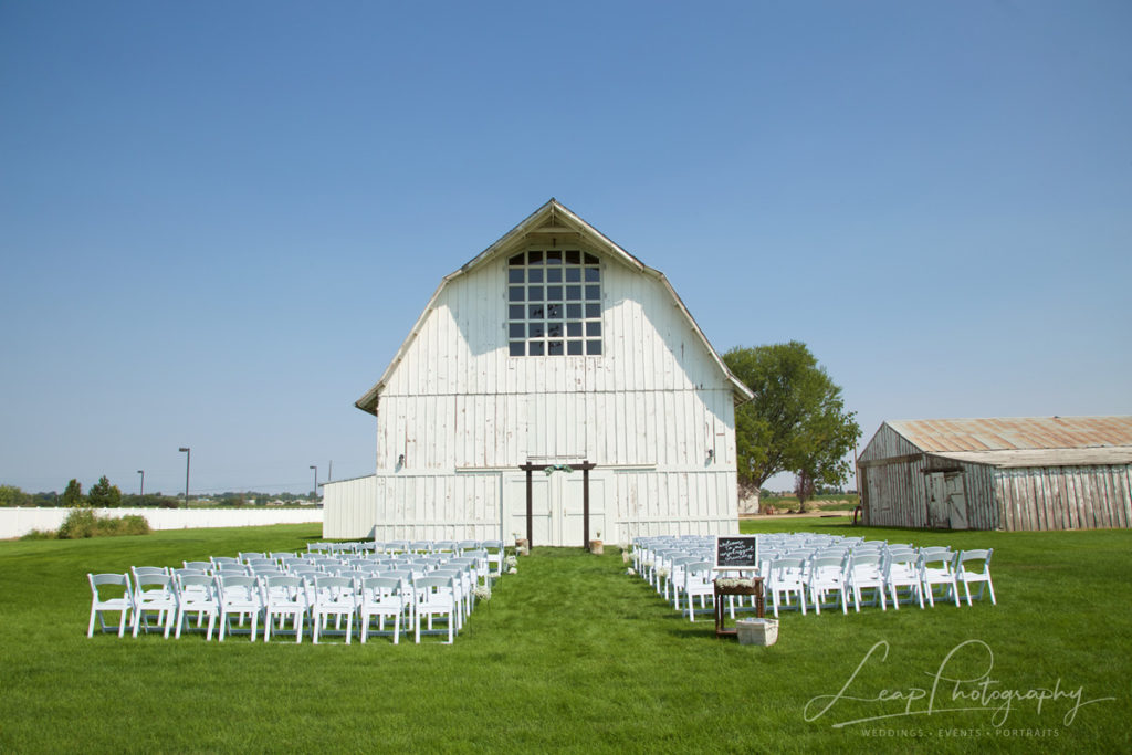 Nampa Idaho wedding venue
