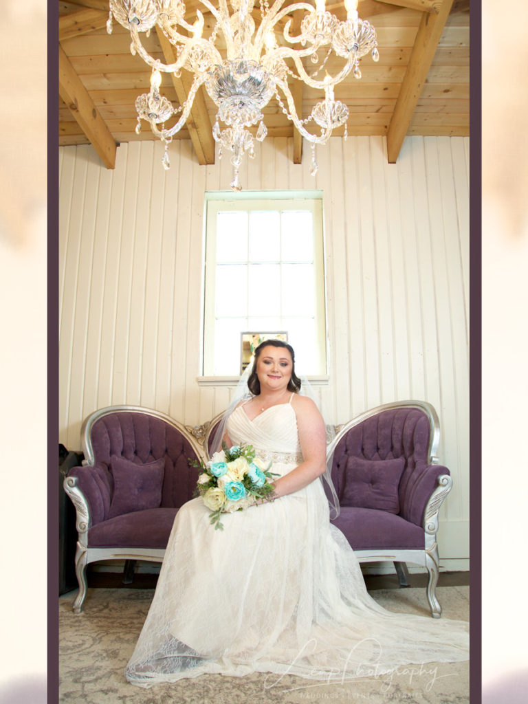 bridal photo of Boise bride