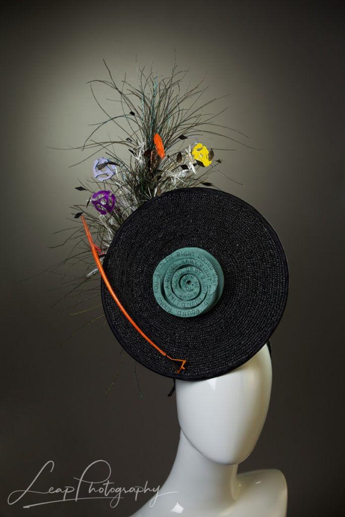 product photography of millinery