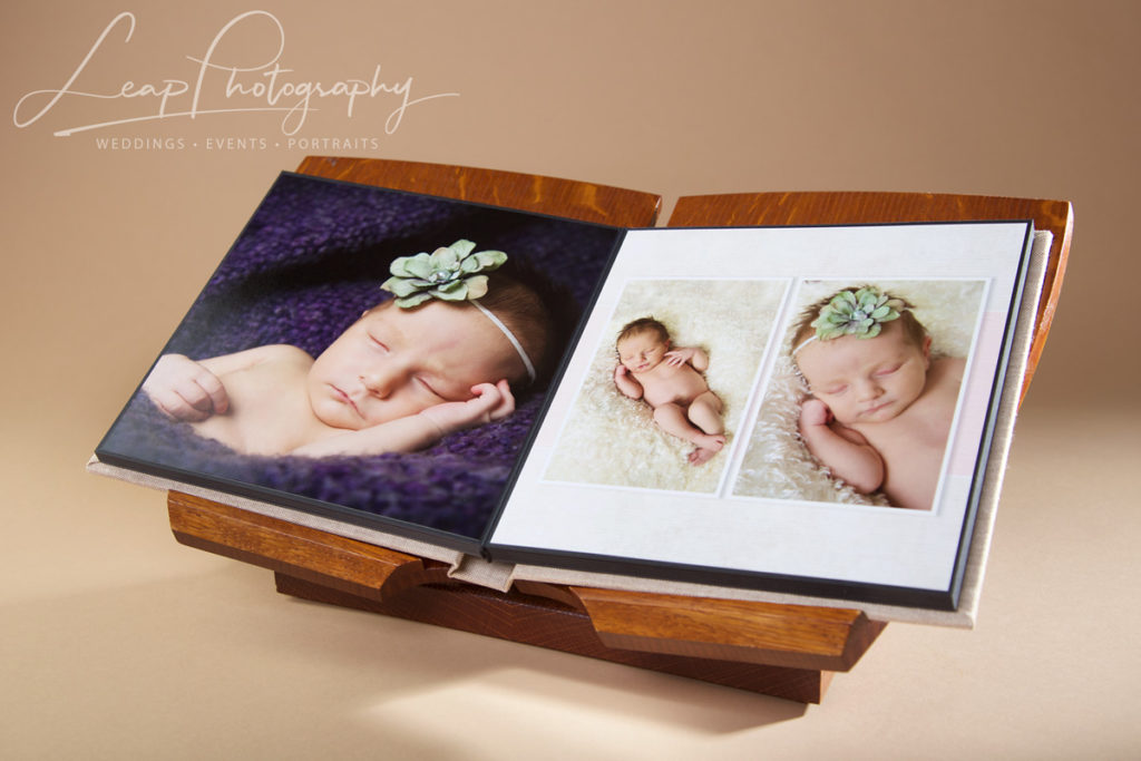 newborn photo album layout