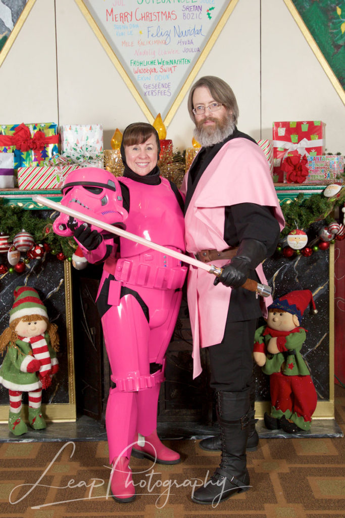 breast cancer survival Star Wars Costumes
