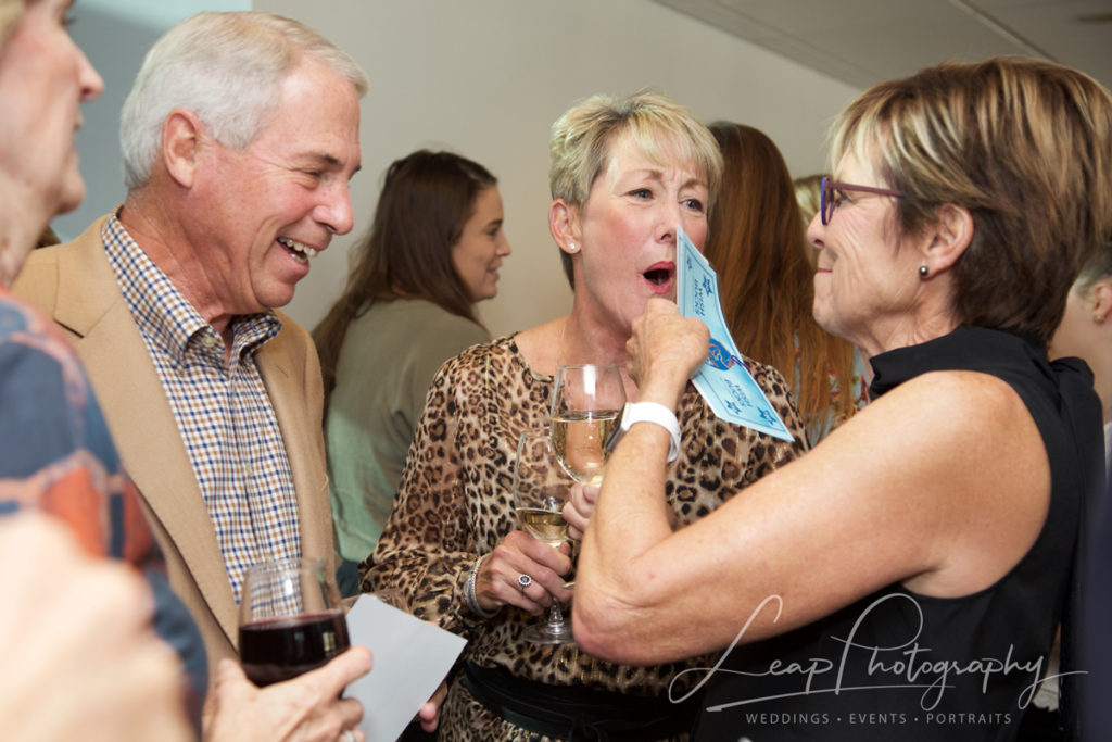 Candid event photography from a Boise Charity fundraiser