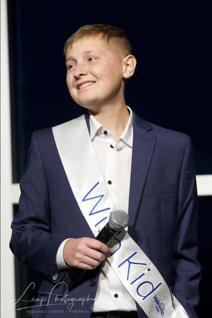 A Make A Wish recipient Speaks at a Boise Event