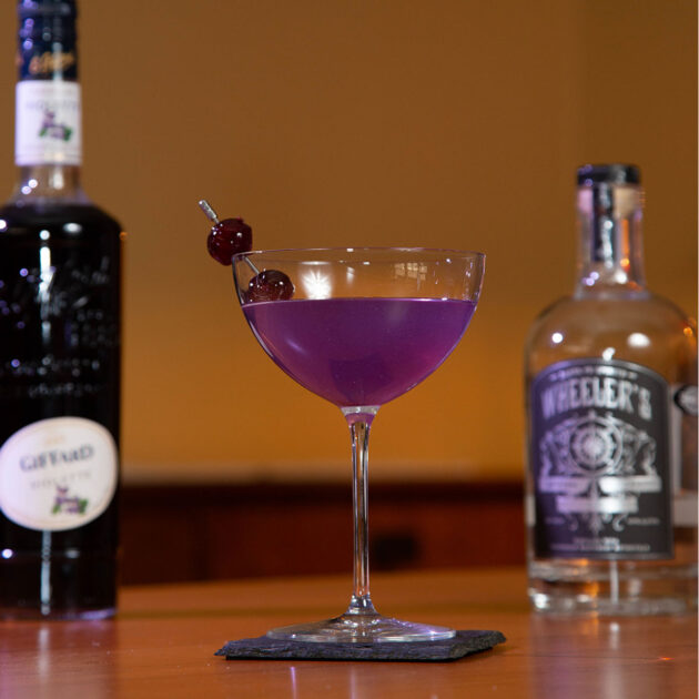 product photography of a mixed drink