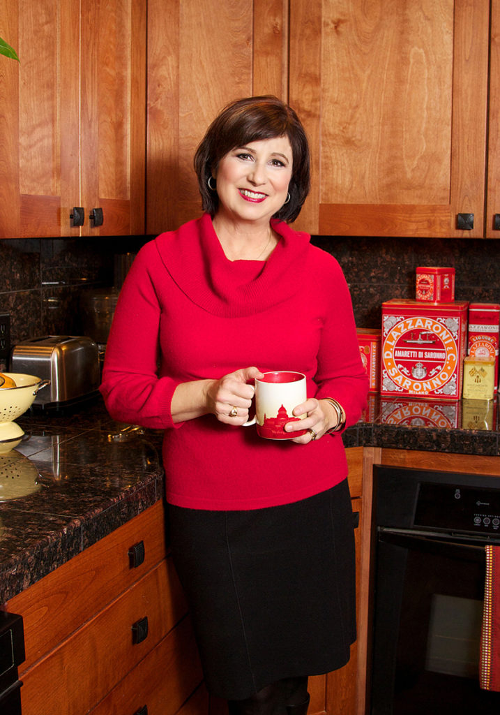 portrait of Boise woman in her kitchen by professional photographer