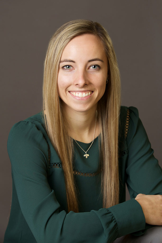professional portrait of a young Boise female professional taken in a boise photography studio
