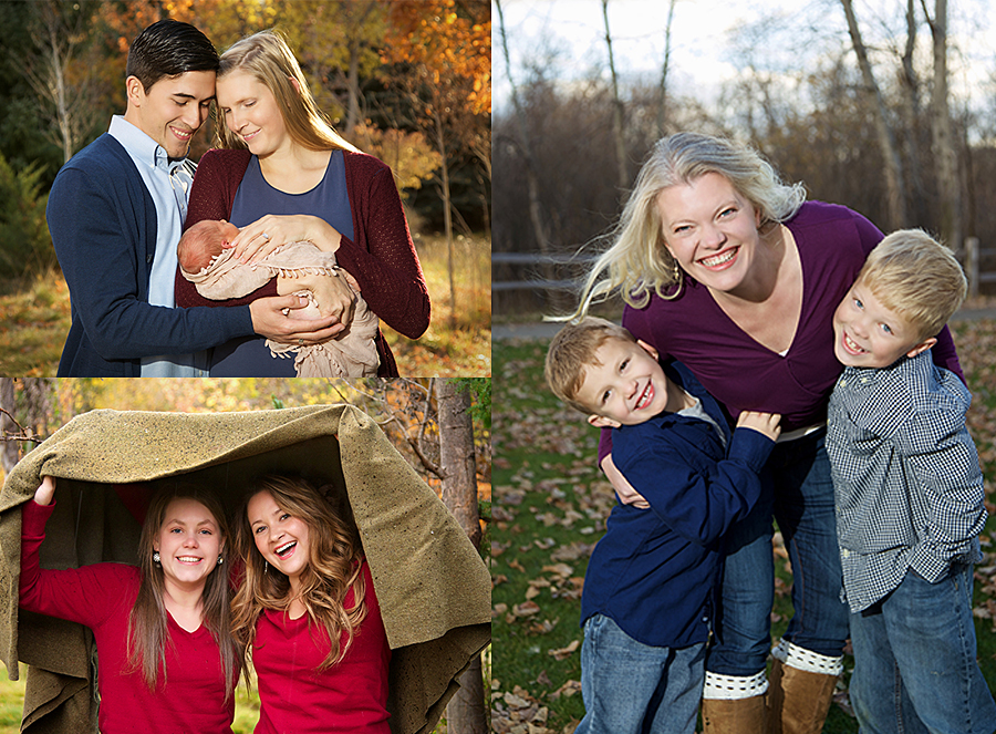 family pictures by boise professional photographer