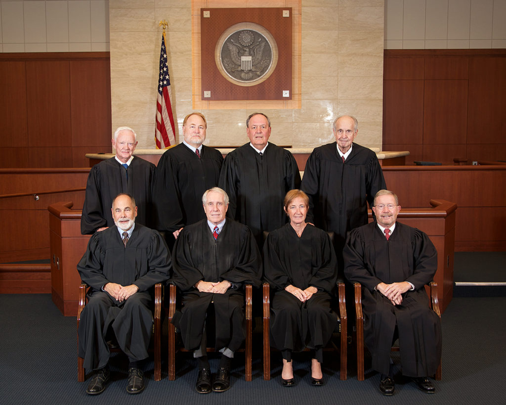 group photo of Idaho Federal Court Judges