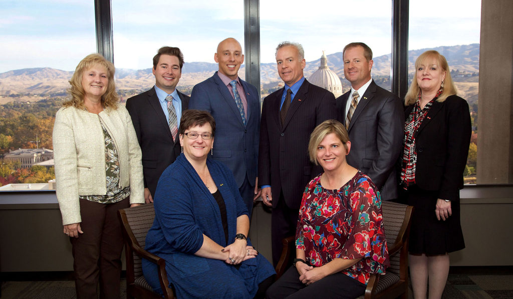 Staff Group Photo Boise Bank